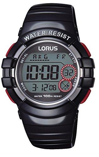 Lorus Kids Montre Mixte Digital Quartz avec Bracelet Polyuréthane R2317KX9