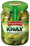 Produkt-Bild: Hengstenberg Knax Gewürzgurken knackig-würzig, 370ml