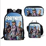 UMydeal Mochila Fortnite Escuela Bolsas Fortnite Juegos Fortnite Fortnite Backpack Mochila de Viaje Daypack Mochila Informal para Adolescentes y Niños (Color2)