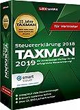 Lexware Taxman 2019 für das Steuerjahr 2018 Minibox für Vermieter Übersichtliche Steuererklärungssoftware für Vermieter Kompatibel mit Windows 7 oder aktueller