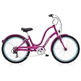 Electra Townie Original 7D EQ Damen Fahrrad Pink 26