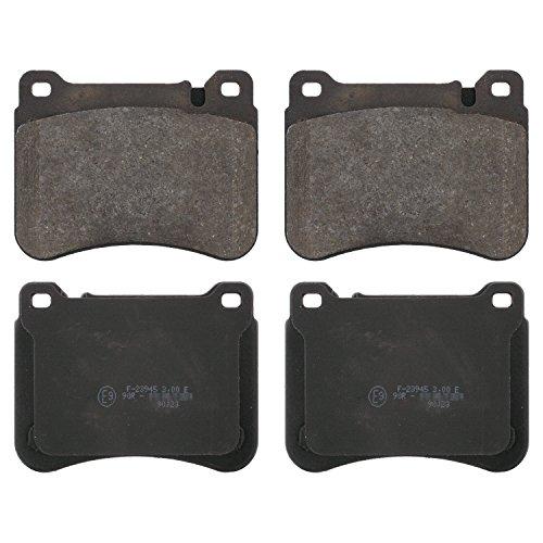 Preisvergleich Produktbild febi bilstein 16751 Bremsbelagsatz (vorne,  4 Bremsbeläge),  ohne Verschleißwarnkontakt