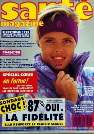 SANTE MAGAZINE [No 169] du 01/01/1990