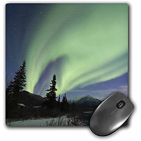 Danita Delimont - Northern Lights - Aurora borealis, Northern Lights, Koyukuk, Alaska, USA - US02 HRO0759 - Hugh Rose - MousePad (mp_141999_1)