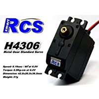 Price comparsion for 2x RCS Model H4306 RC Metal Gear High Torque R/C Hobby Standard Servo CA136