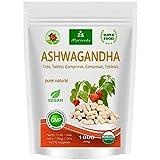 Ashwagandha Kapseln 600mg oder Tabletten 1000mg - reines Naturprodukt in Spitzenqualität - Schlafbeere, Winterkirsche, Indischer Ginseng (120 Kapseln)