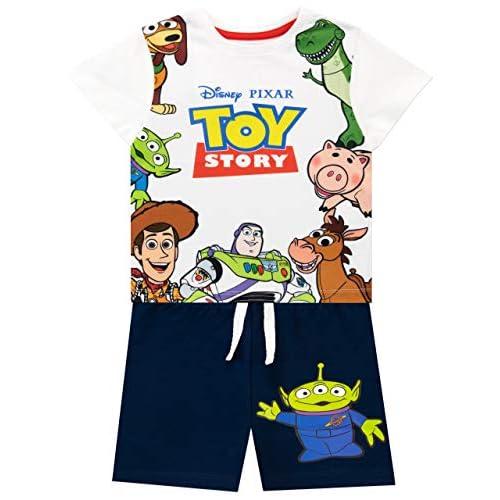 Disney Camiseta Conjunto de Top y Shorts para niños Toy Story 1