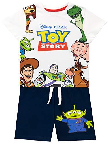 Disney Maglietta e Pantaloncini per Ragazzi Toy Story Multicolore 5-6 Anni