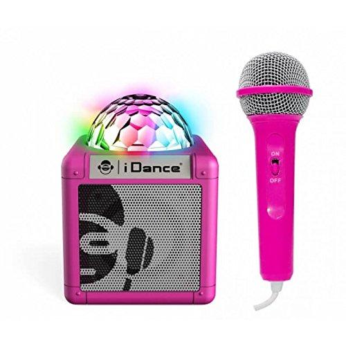 iDance Sing Cube 100 5W Pink - Tragbare Lautsprecher (5 W, Verkabelt & Kabellos, Micro-USB, Pink, Digital, Tablet/Smartphone) Cube Tablet