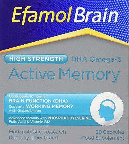 Efamol Efalex Active 50 + 30 Kapseln