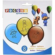 Pocoyo - 8 globos (Verbetena 016000397)