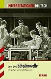 Interpretationen Deutsch - Zweig: Schachnovelle - Bertold Heizmann