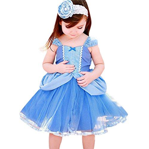 Amphia - Kinder Carnival Tutu - Mesh Rock - Tutu Rock - Blumen-Baby-Prinzessin-Brautjungfern-Festzug-Geburtstagsfeier-Show-Hochzeits-Kleid