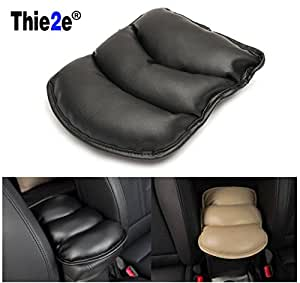Generic Black : Car Center Armrests Cover Protective Pad mats for Nissan Teana XTrail Qashqai Livina Tiida Sunny March Murano Geniss,Juke,Almera