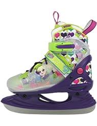 Polly pocket pop patins à glace pour fille Multicolore lila/grün/weiß