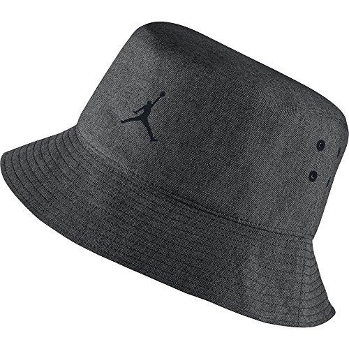 Nike-JORDAN-23-LUX-BUCKET-HAT-Schirmkappe-Michael-Jordan-Schwarz