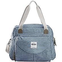 BEABA Geneva ll Play Print Changing Bag (Blue) by B?aba