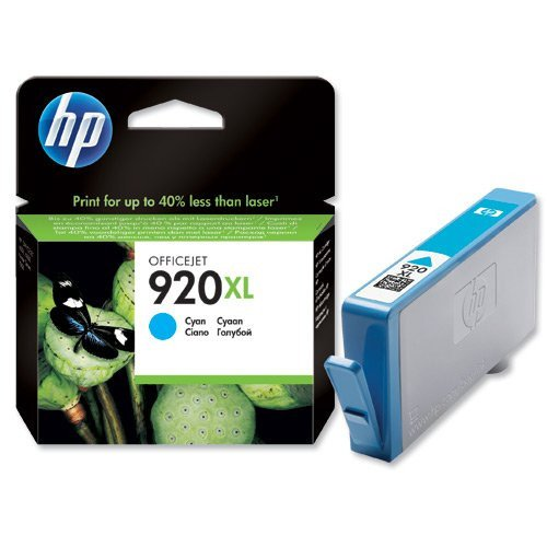 Preisvergleich Produktbild Hewlett Packard [HP] No. 920XL Inkjet Cartridge Page Life 700pp Cyan Ref CD972AE#BGX