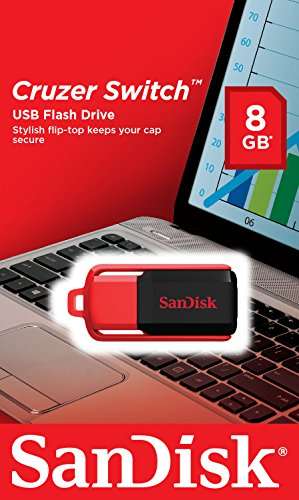SanDisk Cruzer Switch 8GB USB Pen Drive