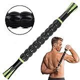Muscle Roller Stick pour les athlètes Corps outils de bâtons de massage musculaire Rouleau de massage pour soulager les douleurs musculaires, crampes et Tiraillements, les jambes et du dos restauration de massage