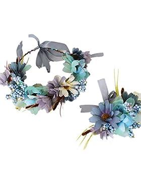 YAZILIND floral guirnalda de enc