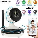 Wanscam 720p Caméra IP Sans Fil Pan Tilt WIFI Sécurité Intérieure Night Vision Support Max 128 GB TF Card Record HW0049