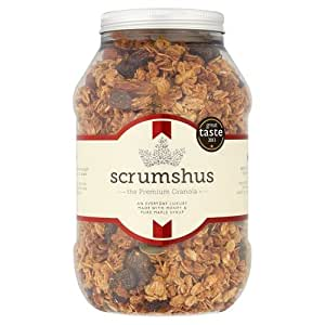 Scrumshus No Added Salt or Sugar Luxury Granola 500 g