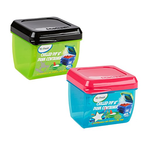 fit-fresh-kids-dip-n-dunk-snack-container-set-of-2-reusable-portion-control-1-cup-containers-with-re
