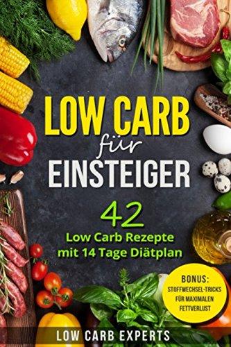 Low Carb für Einsteiger: 42 Low Carb Rezepte mit 14 Tage Diätplan
