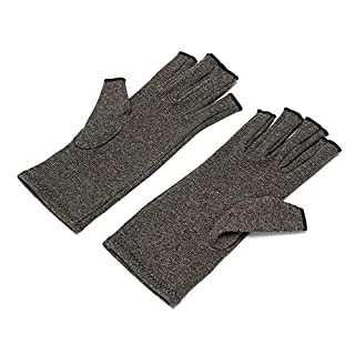 Anti Arthritis Compression Gloves, Therapy and Warmth to Increase Circulation in Wrist Hand Reduce Pain Promote Healing for Computer Typing, Dailywork, Joints Pain Relief - M