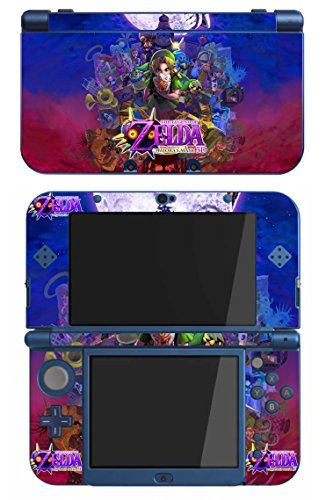 The Legend of Zelda Majora's Mask Game Skin for The Nintendo New 3DS XL Console by Skinhub