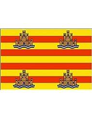 U24bandera de Ibiza barco bandera alta calidad 20x 30cm