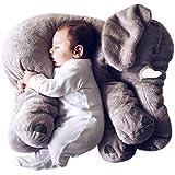 BlueVega Kreative Tier-Plüsch-Spielzeug lange Nasen-Elefant Halsstütze Schlafkissen Comfort-Puppe für Kinder