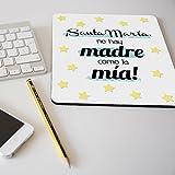 """Alfombrilla para ratón regalo original día de la madre """"Mamá sustituta perfecta de cualquier manual de instrucciones"""""""
