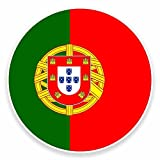 2 x 25cm/250 mm Portugal Autocollant de fenêtre en verre Voiture Van Locations #9521
