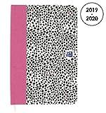 OXFORD 100738406 10Dence Agenda Scolaire journalier 2019-2020 1 Jour par Page 352 pages 12x18 Panthère