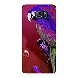 Gorgeous Magic Parrot Multicolor Back Case Cover for Galaxy Note 5