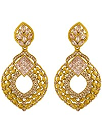 Voylla Ethnic Style Attractive Enamel Earrings For Women