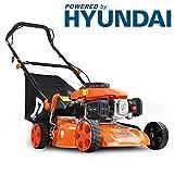 p1pe p4100p 99CC/41cm HYUNDAI Powered Benzin Rasenmäher, orange