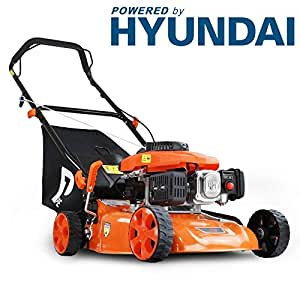 P1PE P4100P 99cc 4-Stroke Petrol Lawnmower Hyundai Powered 41cm / 16inch Cutting Width