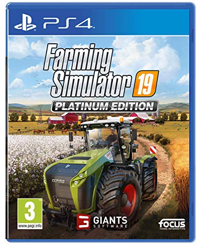 Farming Simulator 19 Platinum Edition (PS4) Best Price and Cheapest