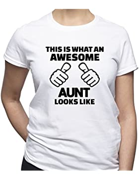 Awesome Aunt Shirt Best Ant Ev
