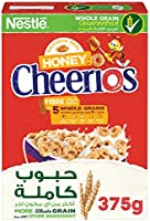 Nestle Cheerios Honey Breakfast Cereal 375g