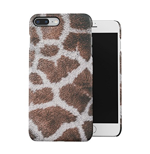 Zebra Fur Pattern Apple iPhone 7 PLUS Snap-On Hard Plastic Protective Shell Case Cover Custodia Giraffe Fur