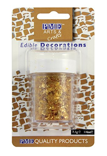 pme-glitter-flakes-cupcake-cup-cake-edible-sugarcraft-decorations-gold-71g