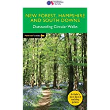 Pathfinder New Forest, Hampshire and South Downs Outstanding Circular Walks (Pathfinder Guides)