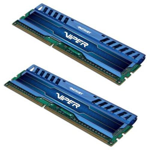 Patriota PV316G160C0KBL 16GB (2x 8GB) DDR3 1600MHz Viper Kit Memoria Serie 3 Dual Channel
