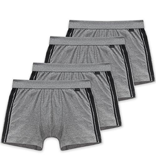 Schiesser Herren Unterhose, 2er Pack 4 X Grau