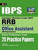 IBPS RRB-CWE  Office Assistant (Multipurpose) Preliminary 25 Practice Papers 2017