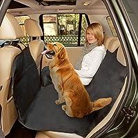 Poppypet Kofferraumschutz Hunde, Praktische Auto Hundedecke, Autoschondecke mit Seitenschutz, Wasserfestes, Hochwertiges Material Schützt Ihre Autositze vor Schmutz und Tierhaaren Schwarz